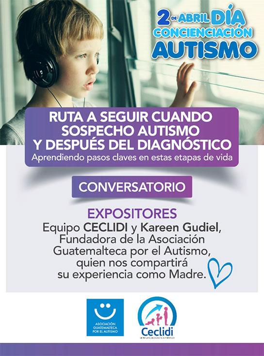 Ruta a seguir en autismo