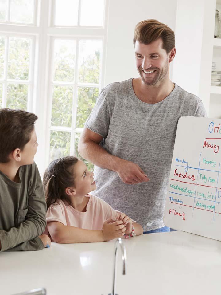 medidas en familia para llevar la cuarentena