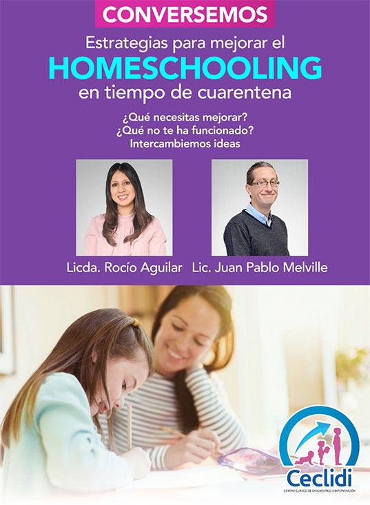 Estrategias para mejorar homeschooling
